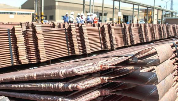 El cobre es considerado como un indicador de la salud económica mundial. (Foto: GEC)