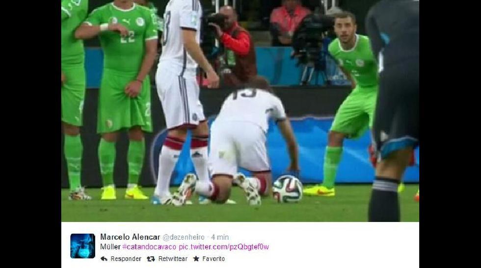 Los memes de la caída de Thomas Müller en el triunfo alemán - 1