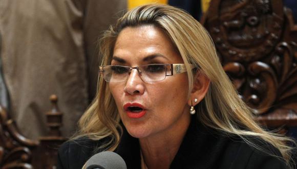 Jeanine Áñez no promulgará ley de inmunidad que favorece a Evo Morales. (AP)