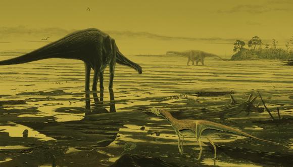 Los dinosaurios ya estaban en declive antes de extinción