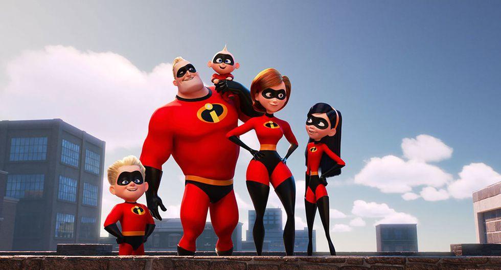 """Puesto: 15: """"Incredibles 2""""- Recaudación a nivel mundial: $1,242.8 - Año: 2018."""