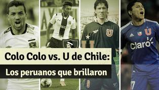 U. de Chile vs. Colo Colo: los peruanos que vistieron sus camisetas