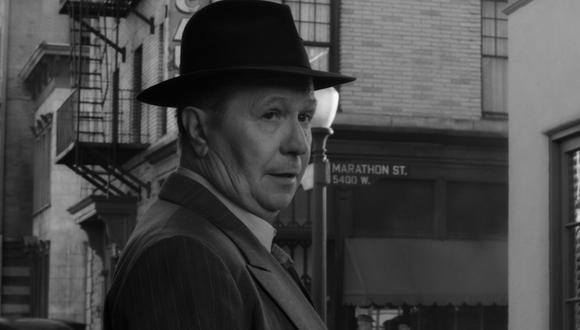 """Gary Oldman en """"Mank"""" de David Fincher, la gran esperanza de Netflix para esta temporada de premios. (Foto: Netflix)"""