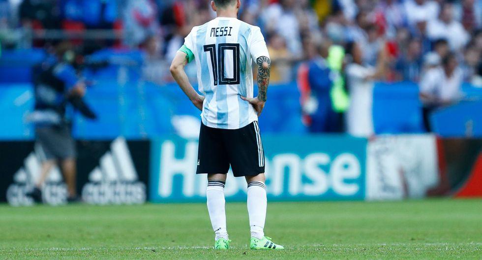 Argentina perdió contra Francia en octavos de final y se despidió del Mundial Rusia 2018. (Foto: AFP)