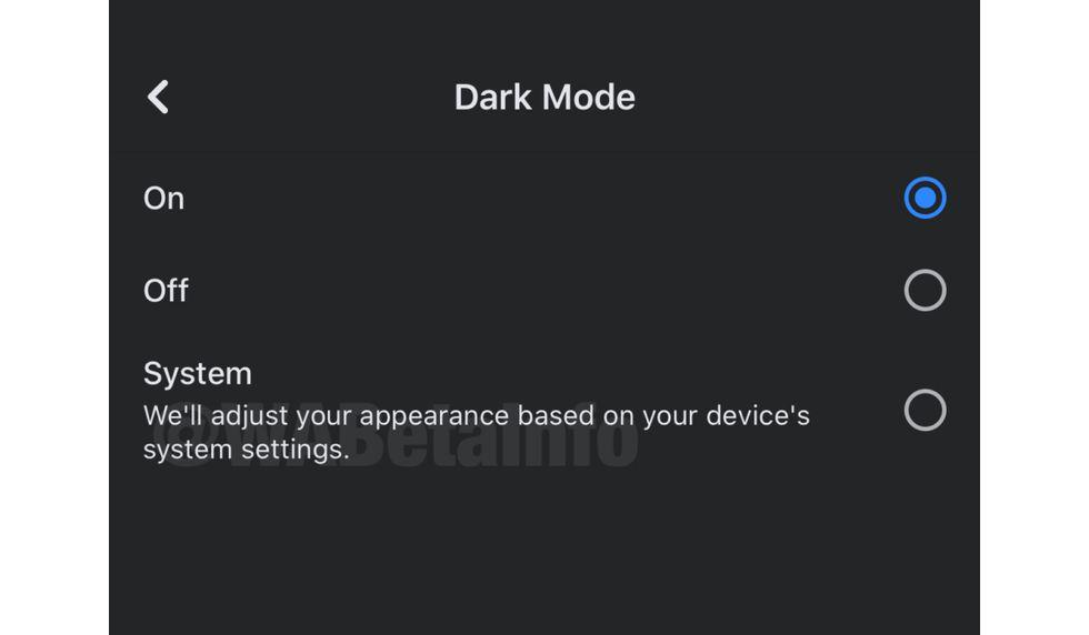 """Conoce cómo activar el """"modo oscuro"""" de Facebook en tu iPhone de inmediato. (Foto: WABeta Info)"""