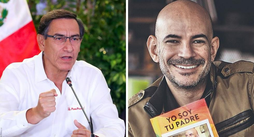 """El productor de Latina, Ricardo Morán felicitó al presidente Martín Vizcarra por su """"poderoso"""" mensaje.  (GEC)"""