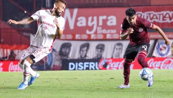 Argentinos Juniors igualó sin goles frente a Lanús por la Superliga Argentina