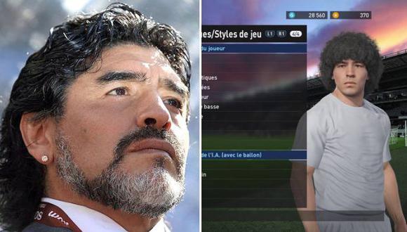 "Diego Maradona promete ""juicio millonario"" contra Konami"