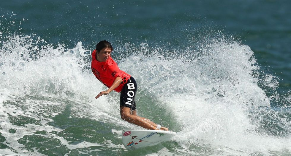 Mulanovich campeona Mundial Isa de Surf: el problema con su tabla, el puntaje final y la crónica del triunfo. (Foto: Getty Images)