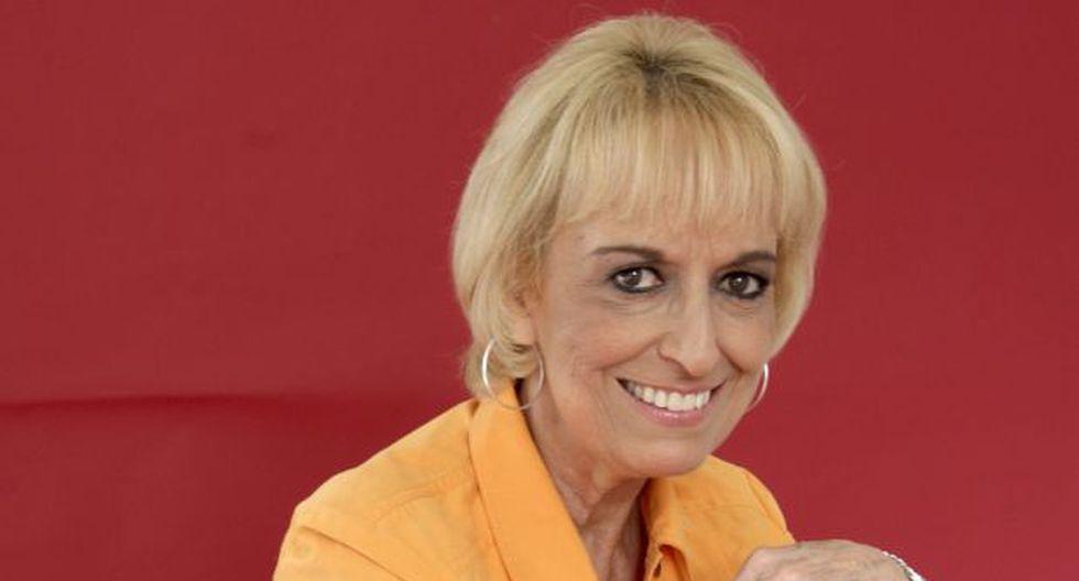 Regina Alcóver trabajó con Enrique Victoria en el teatro. (Foto: Facebook)