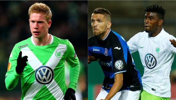 Kevin de Bruyne jugó dos temporadas en el Wolfsburgo. Carlos Ascues estuvo en dos campañas en el elenco alemán.