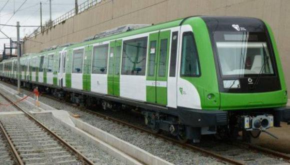 La empresa encargada recordó a los pasajeros que, ante la ocurrencia de un sismo, el interior del tren es el lugar más seguro. (Foto: GEC)