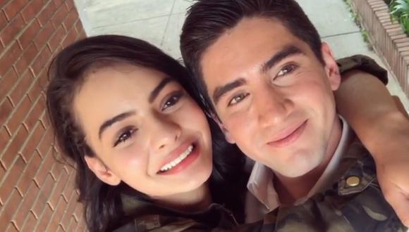 """Majo Vargas y Guillermo Blanco vivieron un romance que también terminó durante las grabaciones de """"La reina del flow"""" (Foto: Guillermo Blanco / Instagram)"""