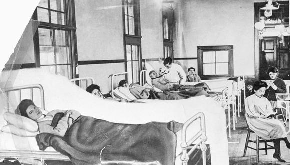 """Mary Mallon, known as """"Typhoid Mary,"""" was immune to the typhoid she carried. Working as a cook, she spread the disease in New York and ended up quarantined on Brother Island (above) for more than two decades."""