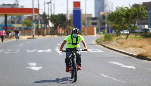 El objetivo de Ciclolima es fomentar el uso de la bicicleta como un vehículo económicamente sostenible, autónomo y ecológico.  / Foto: Hugo Curotto.