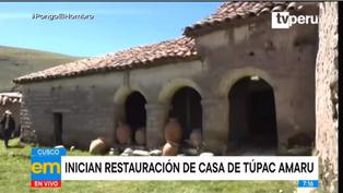 Cusco: inician restauración de casa de Túpac Amaru
