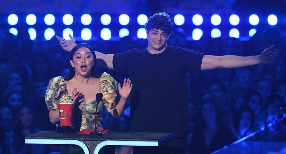 Lana Condor y Noah Centineo en los MTV Movie & TV Awards 2019. (Foto: Agencias)