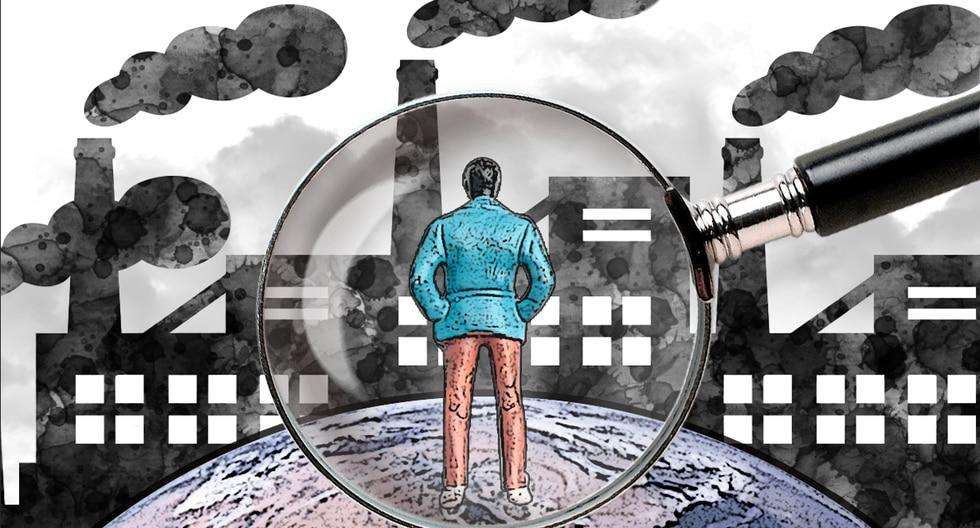 """""""Si bien todos debemos poner nuestro granito de arena y todos los estados tienen que contribuir al esfuerzo, el destino se va a sellar por lo que hagan o dejen de hacer solo cuatro países"""". (Ilustración: Rolando Pinillos Romero)."""
