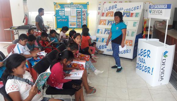San Martín: cerca de 4 mil libros serán donados a colegios de Tocache