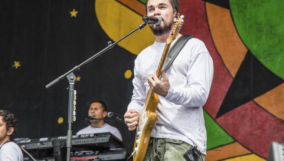 Juanes durante su presentación en el Festival New Orleans Jazz and Heritage en el 2018. (Foto: AP).