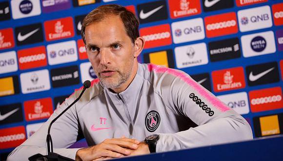 Thomas Tuchel, entrenador del PSG. (Foto: AFP)
