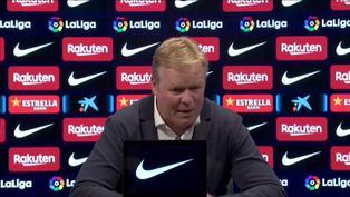 """Ronald Koeman: """"El Barcelona de hoy en día no es el de hace ocho años"""""""