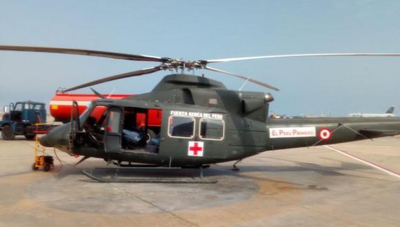 FAP informó que un helicóptero se dirige a Huacho con personal del Samu para proceder con la evacuación de heridos del accidente vehicular en Huaura. (Foto:@fapperu)