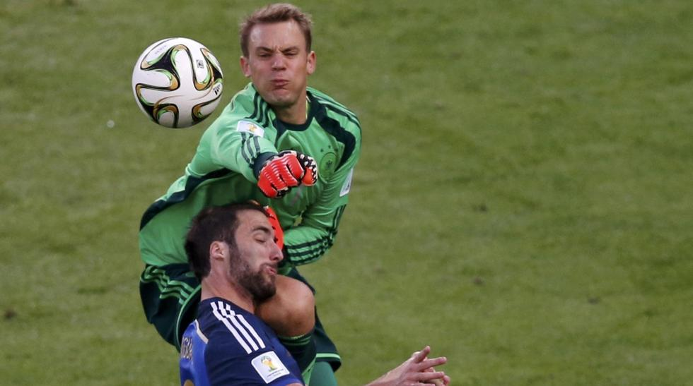 Alemania vs. Argentina: golpes y dureza en la final - 1
