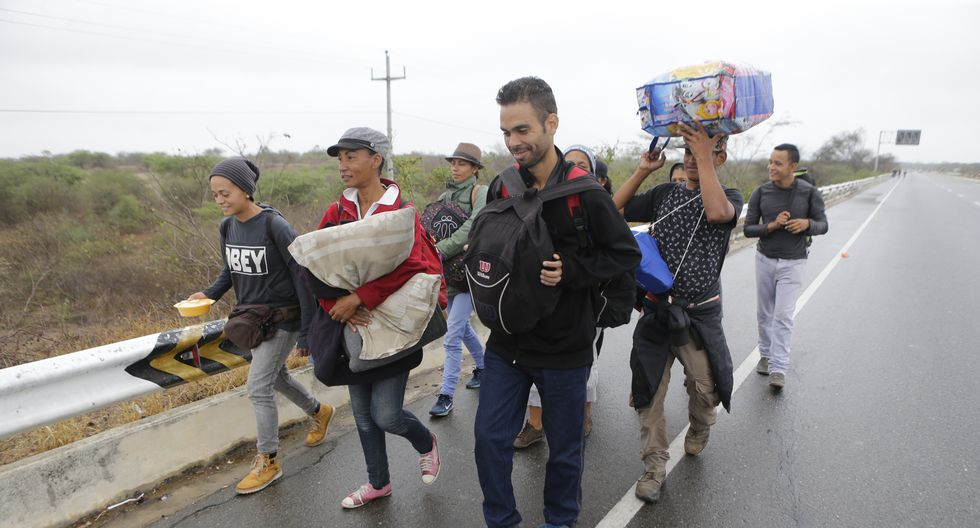 Venezolanos en Tumbes (Alonso Chero / El Comercio)