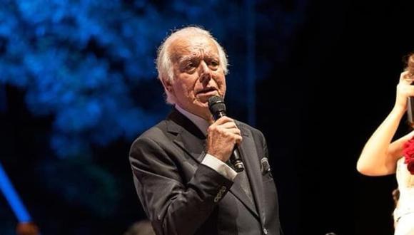 Carlos do Carmo falleció este 1 de enero a los 81 años en un hospital de Lisboa. (Foto: Facebook oficial)