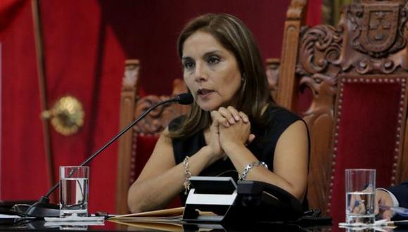 Rechazan pedido de vacancia contra Patricia Juárez