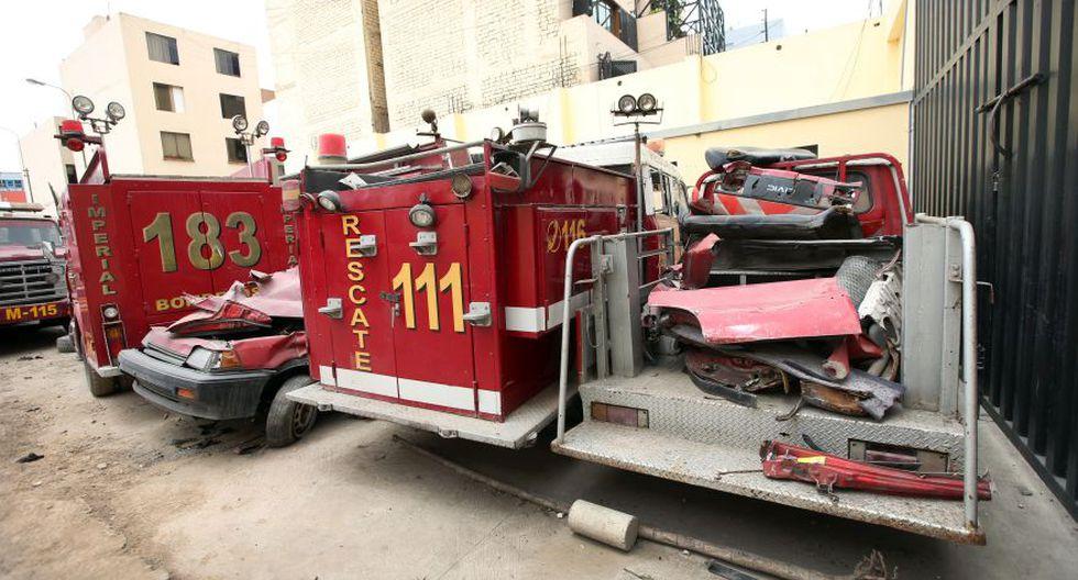 En estas condiciones trabajan los bomberos de Lima [FOTOS] - 4