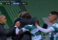 Cruz Azul vs. Santos Laguna: Diego Valdés y el golazo desde fuera del área para el 1-0 | VIDEO