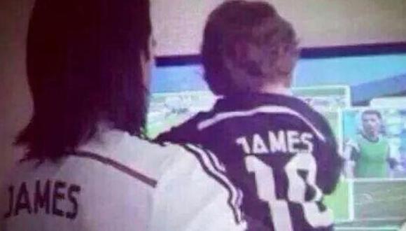 ¿Radamel Falcao alentó a Real Madrid en clásico ante Barcelona?