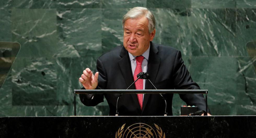 El secretario general de la ONU Antonio Guterres. (EDUARDO MUNOZ ALVAREZ / POOL / AFP).