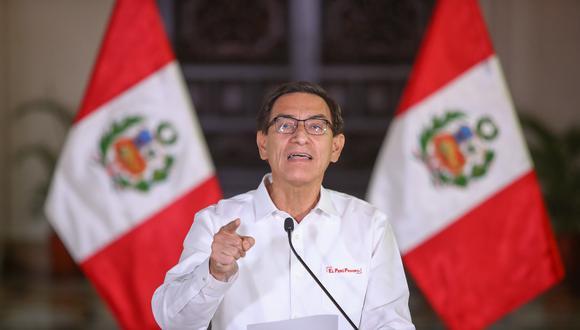 """""""En su 'mea culpa' del lunes ni siquiera tuvo la fineza de enviar un mensaje a esas bancadas y parlamentarios –cerca de la mitad– que no votaron por la admisión de la moción de vacancia"""". (Foto: Presidencia Perú)."""