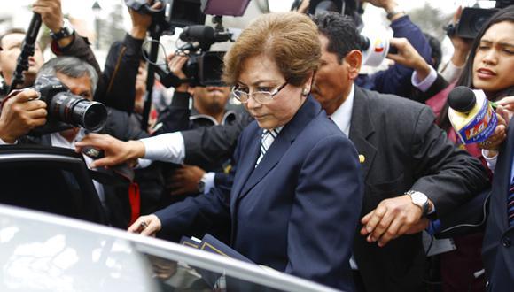 Gladys Echaíz está dispuesta a renunciar a la fiscalía