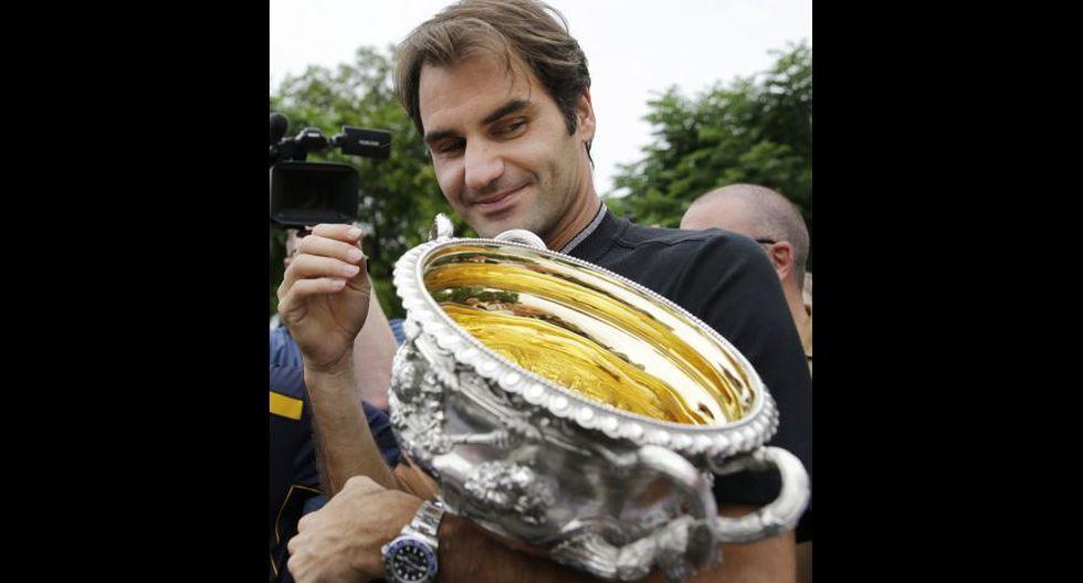 Roger Federer: el día después de hacer historia en Australia - 10
