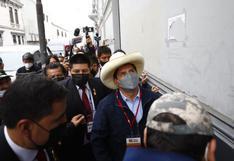 Pedro Castillo participó este sábado en congreso partidario de Perú Libre