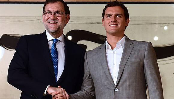 España: Ciudadanos no votará por Rajoy para jefe de Gobierno