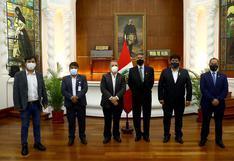 Presidente Francisco Sagasti se reunió con representantes y congresistas del Frente Amplio