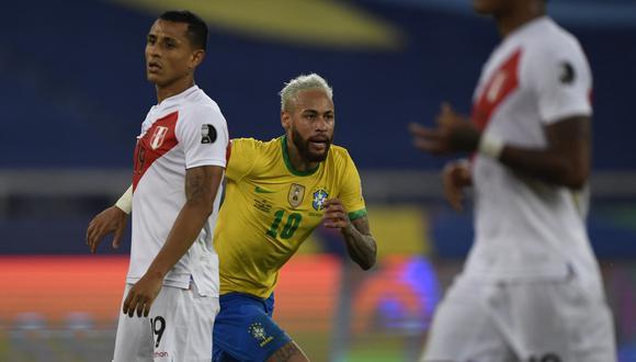 Neymar es uno de los goleadores de la Copa América, con dos anotaciones. (Foto: AFP)