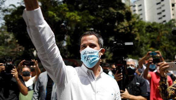 Juan Guaidó, líder opositor venezolano. (Foto: Reuters)