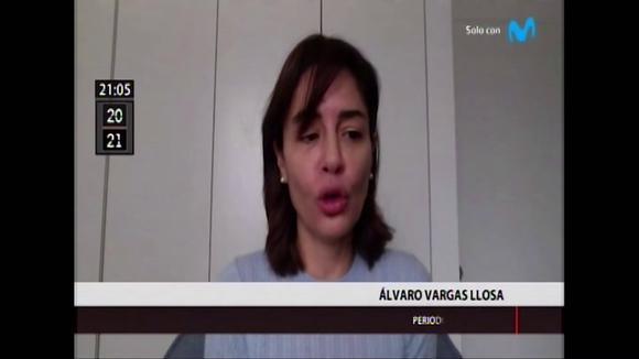 Alvaro Vargas mentions Losa Francisco Sagasti and Violeta Permades