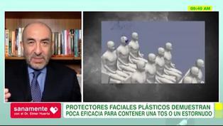 Sanamente: ¿Los protectores faciales de plástico son efectivos?