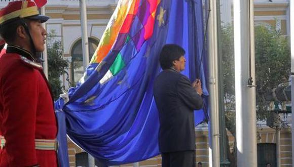 Evo pide izar bandera marítima para esperar decisión de la Haya