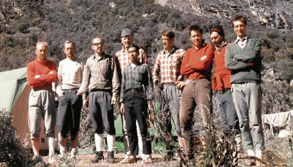 Los montañistas checoslovacos arribaron al Perú un mes antes del terremoto. Su intención era coronar el Huascarán y el Huandoy. (Foto: cortesía embajada de la República Checa)