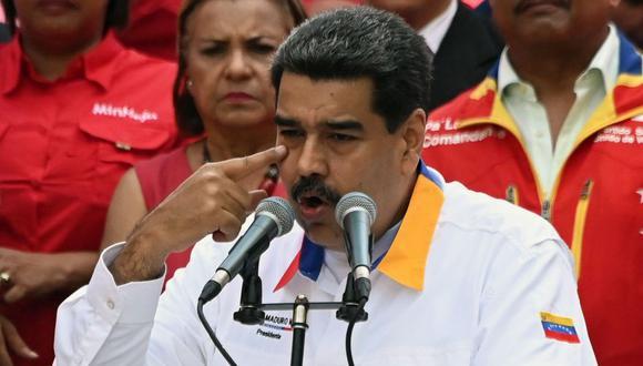 Los señalamientos contra Guaidó surgieron en medio de las denuncias de la oposición sobre que el régimen de Maduro ampara a grupos paramilitares. (Foto: AFP)