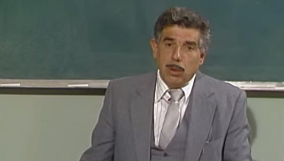 El 'Profesor Jirafales' fue hospitalizado