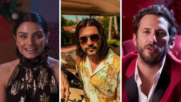 """Juanes fue el anfitrión de """"Celebremos: Eterna Navidad"""", donde participaron diferentes personajes de América Latina. (Foto: Instagram / @streampapaya/ @juanes)."""